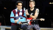 Rent at the Hollywood Bowl – Skylar Astin – Aaron Tveit (onstage)