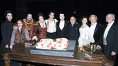 Phantom of the Opera 23rd Anniversary – stars with cake