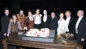 Phantom of the Opera 23rd Anniversary – stars with cake