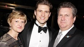 Catch Me If You Can Opening Night – Aaron Tveit – parents