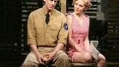 Andrew Samonsky as Lt. Joseph Cable and Laura Osnes as Ensign Nellie Forbush in South Pacific.