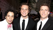 2010 Tony Awards Red Carpet – Robin De Jesus – Jonathan Groff – Patrick Heusinger