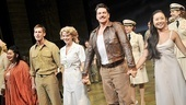 South Pacific closing – cast