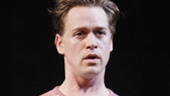 T.R. Knight as John in A Life in the Theatre.