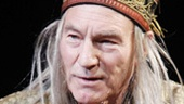 Patrick Stewart as Robert in A Life in the Theatre.