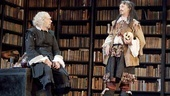 Stephen Ouimette and Mark Rylance as Valere in La Bete.