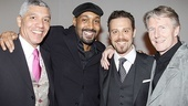 Merchant of Venice Opening night – Peter Francis James – Jesse L. Martin – Matthew Rauch – Byron Jennings