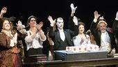 Phantom of the Opera 23rd Anniversary – waving with cake