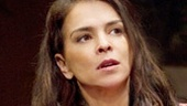 Annabella Sciorra as Victoria in Mother**ker with the Hat.