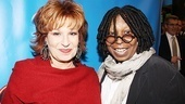 Sister Act Opening Night –  Joy Behar – Whoopi Goldberg
