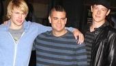 Glee NYC – Chord Overstreet – Mark Sailing – Cory Monteith