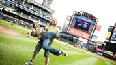 Hair Cast at Mets Game – Laura Dreyfuss – Matt DeAngelis