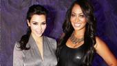 Kardashian Love Loss-  Kim Kardashian - La La Anthony