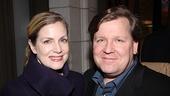 Venus in Fur Broadway Opening Night – David Lindsay-Abaire – wife Christine