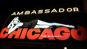 Chicago 15th Broadway Anniversary – marquee