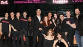 Chicago 15th Broadway Anniversary – cast shot with bus