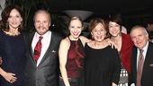 Chicago 15th Broadway Anniversary – Marilu Henner – Barry Weissler – Charlotte d'Amboise – Fran Weissler – Paige Davis – John Kander