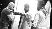 Streetcar Named Desire rehearsal – Jacino Taras Riddick – Blair Underwood – Wood Harris