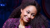 Chester Gregory as Eddie and Raven-Symoné as Deloris Van Cartier in Sister Act.