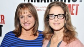 Two-time Tony Award winner Patti LuPone and Oscar nominee Debra Winger greet the press and dish about David Mamet's new play The Anarchist.