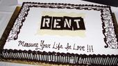 Rent Closing Night – cake