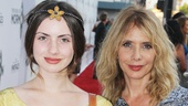 'Book of Mormon' LA Opening—Zoe Sidel—Rosanna Arquette