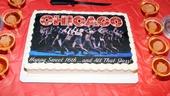 Chicago – 16th anniversary –  Anniversary Cake