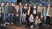 Danny DeVito and Rhea Perlman at Peter and the Starcatcher – group shot