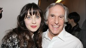 The Performers – opening night – Zooey Deschanel – Henry Winkler