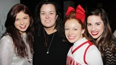 Rosie O'Donnell at 'Bring It On' — Casey Jamerson — Rosie O'Donnell — Courtney Corbeille — Nikki Bohne