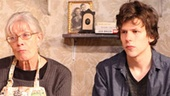Vanessa Redgrave as Maria and Jesse Eisenberg as David in The Revisionist.