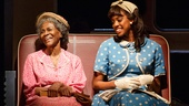 Cicely Tyson as Carrie Watts and Condola Rashad as Thelma in The Trip to Bountiful.