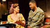 Vanessa Williams as Jessie Mae Watts and Cuba Gooding Jr. as Ludie Watts in The Trip to Bountiful.
