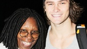 Pippin – Whoopi Backstage Visit – Whoopi Goldberg – Orion Griffiths