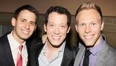 2013 Theatre World Awards — Benj Pasek — John Tartaglia — Justin Paul