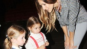 Sarah Jessica Parker and daughters at Cinderella – Sarah Jessica Parker – Loretta Broderick – Tabitha Broderick
