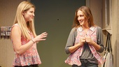 Zoe Levin as Lizzy & Sarah Jessica Parker as Becca in The Commons of Pensacola