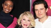 Celebs at Romeo and Juliet - Condola Rashad - Joan Rivers - Orlando Bloom