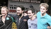 Small Engine Repair opening – James Badge Dale – John Pollono – James Ransone – Keegan Allen