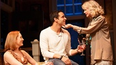Kate Jennings Grant as Nell McNally, Daniel Sunjata as Michael Astor & Blythe Danner as Anna Patterson in The Country House