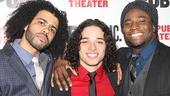 Hamilton – opening night – 2/15 – OP – Daveed Diggs – Anthony Ramos – Okierete Onaodowan