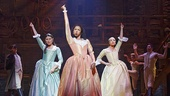 Hamilton - Show Photos - 8/15 - Phillipa Soo - Renee Elise Goldsberry - Jasmine Cephas Jones