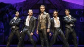 Adam Pascal as William Shakespeare in Something Rotten!.
