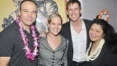 South Pacific closing – Danny Burstein – Rebecca Luker - Andrew Samonsky - Loretta Ables Sayre