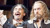 Mark Rylance as Valere and David Hyde Pierce  as Elomire in La Bete.