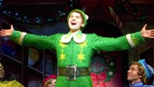 Sebastian Arcelus as Buddy and cast in Elf.