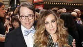Catch Me If You Can Opening Night – Matthew Broderick – Sarah Jessica Parker – James Wilkie Broderick