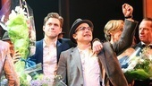 Catch Me If You Can Opening Night – Aaron Tveit – Norbert Leo Butz (curtain call)