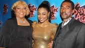 Sister Act Opening Night – Patina Miller and parents