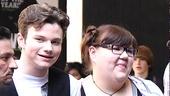 Glee NYC – Chris Colfer – Ashley Fink